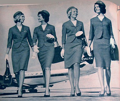 flight attendants retro